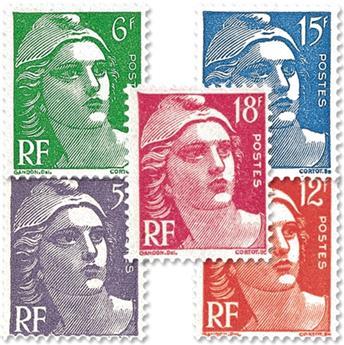 n° 883/887 -  Selo França Correios
