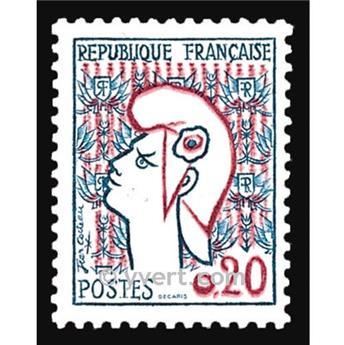 nr. 1282 -  Stamp France Mail