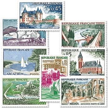n.o 1311 / 1318 -  Sello Francia Correos