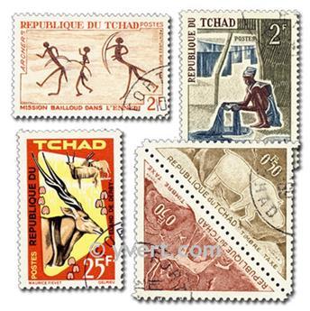 CHADE: lote de 100 selos