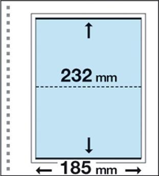 Recharges CK7 : 1 poche (232x185mm)