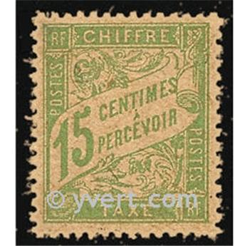n° 30a(GC) -  Timbre France Taxe