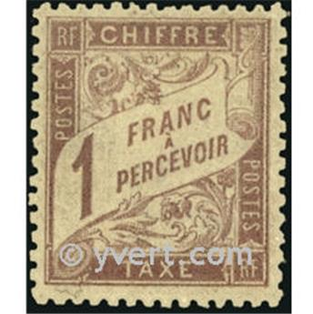 n° 39 -  Timbre France Taxe