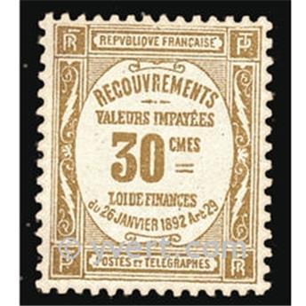 n° 46 -  Selo França Taxa