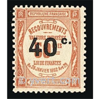 n° 50 -  Selo França Taxa