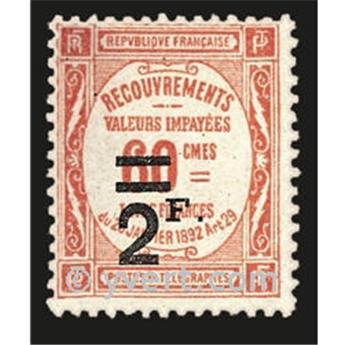 n.o 54 -  Sello Francia Tasa