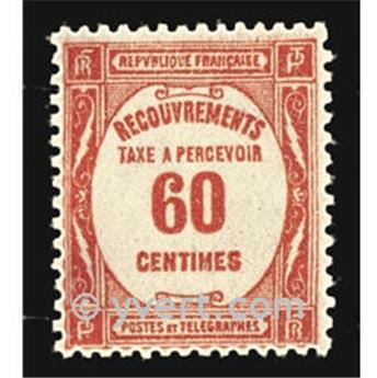 nr. 58 -  Stamp France Revenue stamp