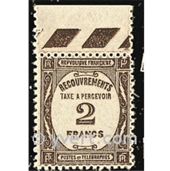 n.o 62 -  Sello Francia Tasa