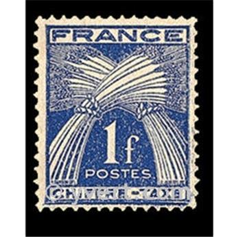 n.o 70 -  Sello Francia Tasa