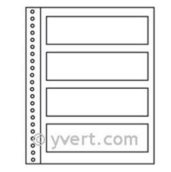 Inserts single Régent - SUPRA: 4 strips