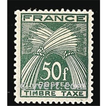 n.o 88 -  Sello Francia Tasa