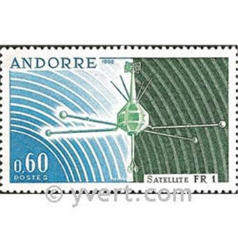 n° 177 -  Timbre Andorre Poste