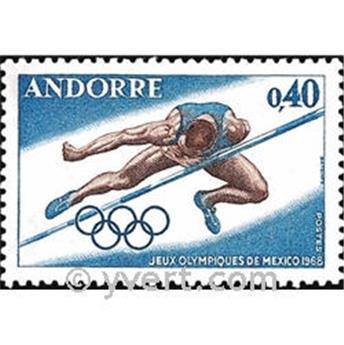 n.o 190 -  Sello Andorra Correos