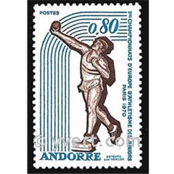 nr. 205 -  Stamp Andorra Mail