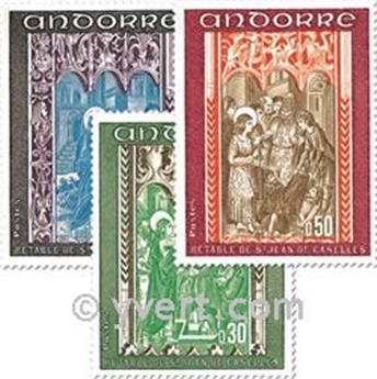 nr. 214/216 -  Stamp Andorra Mail