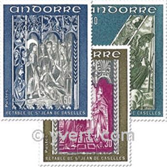 nr. 221/223 -  Stamp Andorra Mail
