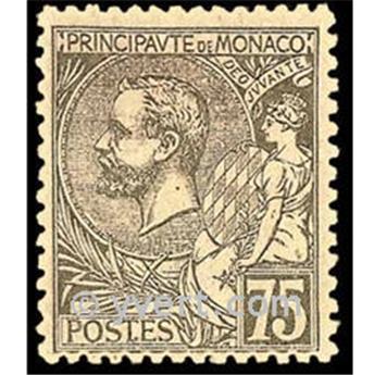 n° 45 -  Selo Mónaco Correios