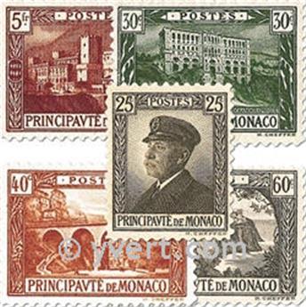 n° 54/64 -  Timbre Monaco Poste