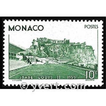 n° 184 -  Timbre Monaco Poste