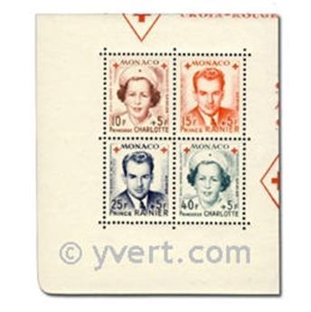 n° 334A/337A -  Timbre Monaco Poste