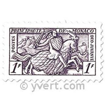 n° 371/375 -  Timbre Monaco Poste