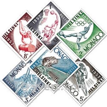 nr. 386/391 -  Stamp Monaco Mail
