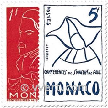 n° 399/401 -  Selo Mónaco Correios