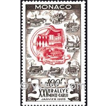 n° 420 -  Timbre Monaco Poste