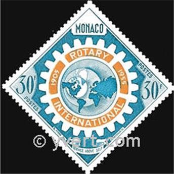 n° 440 -  Selo Mónaco Correios