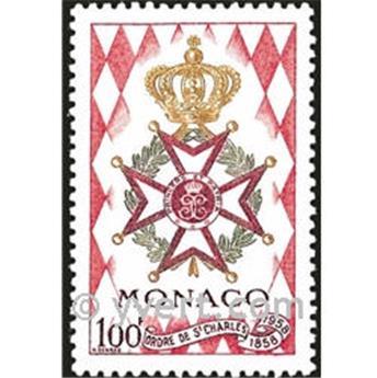 n° 490 -  Selo Mónaco Correios