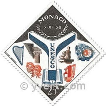 n° 511/512 -  Timbre Monaco Poste