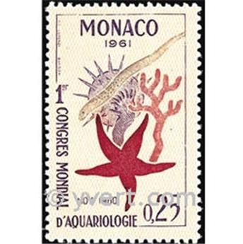 n.o 551 -  Sello Mónaco Correos