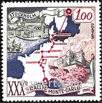 n° 556 -  Timbre Monaco Poste