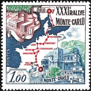 n° 575 -  Timbre Monaco Poste