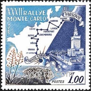 n.o 614 -  Sello Mónaco Correos