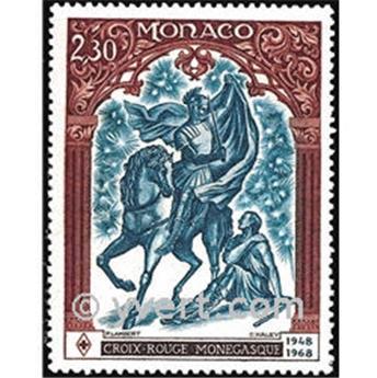 n° 742 -  Timbre Monaco Poste