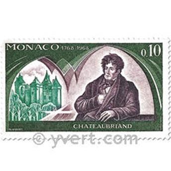 n° 758/763 -  Timbre Monaco Poste