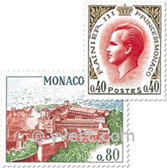 n° 772/778 -  Timbre Monaco Poste