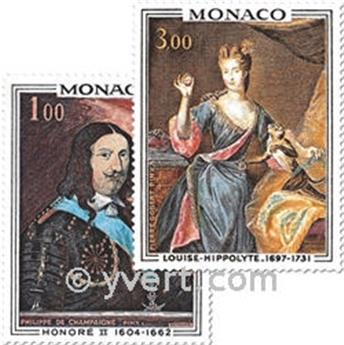 n° 797/798 -  Timbre Monaco Poste