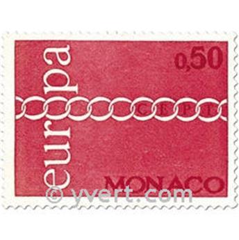 n° 863/865 -  Selo Mónaco Correios