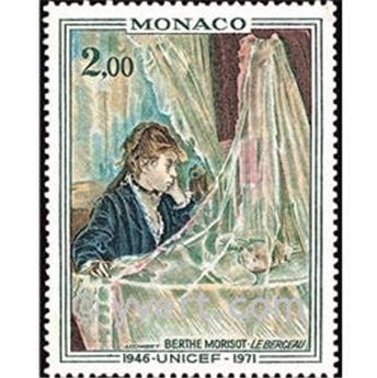 n.o 877 -  Sello Mónaco Correos