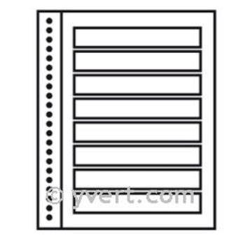 Recargas ´Reto-Verso Duo-Supra´: 8 tiras