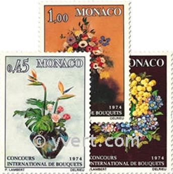 n.o 948/950 -  Sello Mónaco Correos