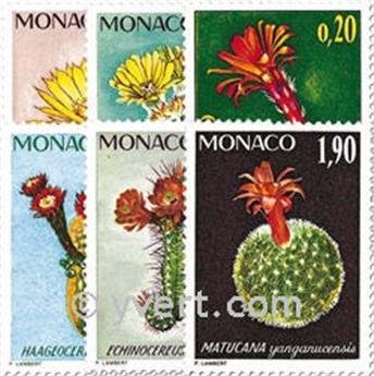 n.o 997/1002 -  Sello Mónaco Correos