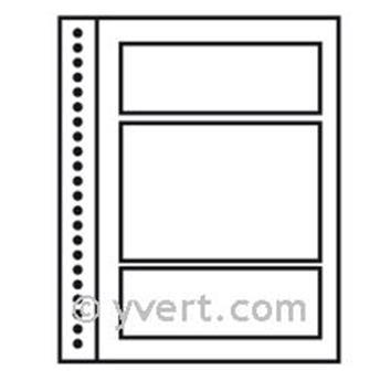 Recargas ´Reto-Verso Duo-Supra´:  compartimento central + 2 tiras