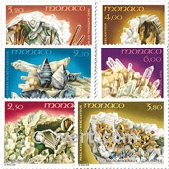 n° 1730/1735 -  Timbre Monaco Poste