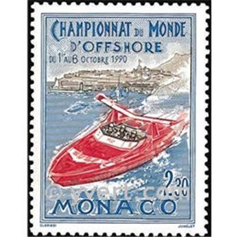 n.o 1741 -  Sello Mónaco Correos