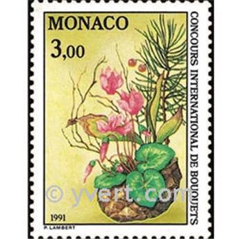 n° 1759 -  Selo Mónaco Correios