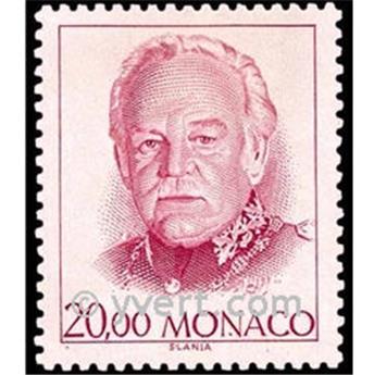 n° 1778 -  Selo Mónaco Correios