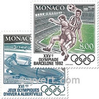n° 1811/1812 -  Timbre Monaco Poste